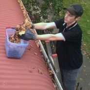 Autumn is here, time to clean your gutters!